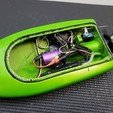 Descargar diseños 3D Mini RC Jet Boat FullThrottleRC, FullThrottleRC