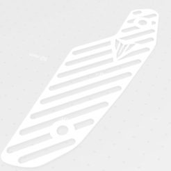 GF.png Download STL file Grid MT09 FZ09 phase 2 • 3D printable design, MT57200
