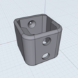 Download 3D printing designs Bosch GSR Battery Wall-/Deskholder, tra6zon1uyum