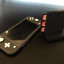 Descargar archivo STL Soporte / Soporte de pared para Nintendo Switch • Modelo para la impresora 3D, tra6zon1uyum