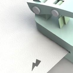 Télécharger objet 3D gratuit perforateur pour le papier., mahadqasim74