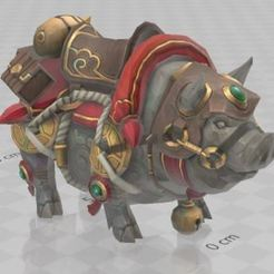 Télécharger objet 3D gratuit Cochon, Animal, cochon d'inde, jeux,, ryad36