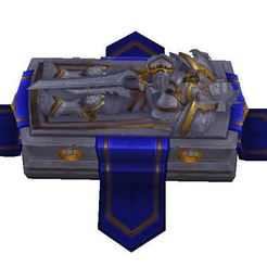 Download free 3D printer designs Tomb of King Varian wow Alliance, ryad36