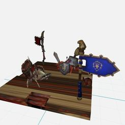 Download 3D printing models Crab Crab Fight Alliance Horde Wow, ryad36
