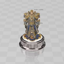 Descargar Modelos 3D para imprimir gratis Anduin ,Alianza ,World of Warcraft, ryad36