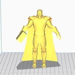 Imprimir en 3D gratis ¡Thor God of Thunder!, ryad36