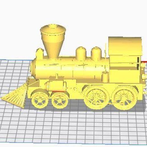 Download Free 3D Printer Model Steam Train ・ Cults