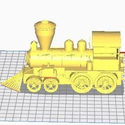 Télécharger fichier 3D gratuit Train a vapeur , ryad36