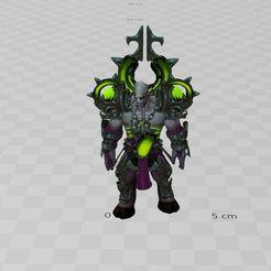 Descargar archivo 3D gratis Boss World Of Warcraft ,WOW, ryad36