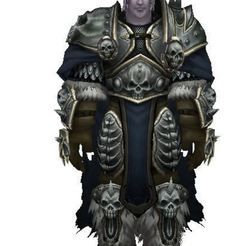 Download free 3D printer files PRINCE ARTHAS, WORLD OF WARCRAFT, WOW, ALLIANCE, GAMES, ryad36