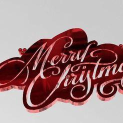 Télécharger fichier 3D gratuit Joyeux Noel, ryad36