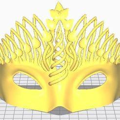 Download free 3D printer designs Mask 3 d, ryad36