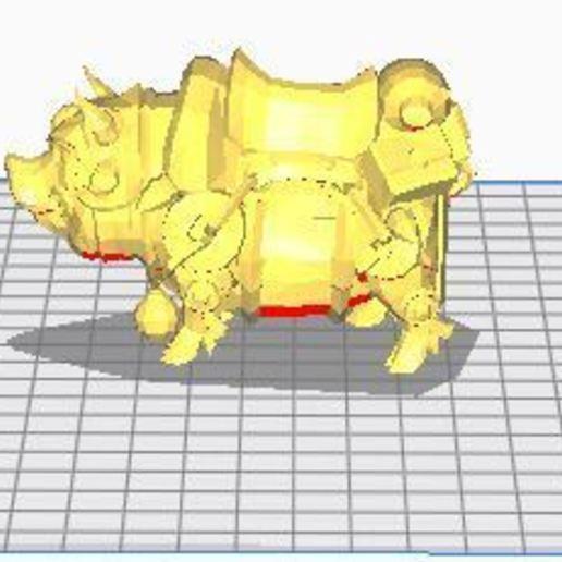 97.JPG Télécharger fichier OBJ gratuit Cochon, Animal, cochon d'inde, jeux, • Objet pour imprimante 3D, ryad36
