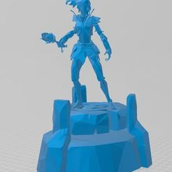 Download free 3D model Avalon Champion, ryad36