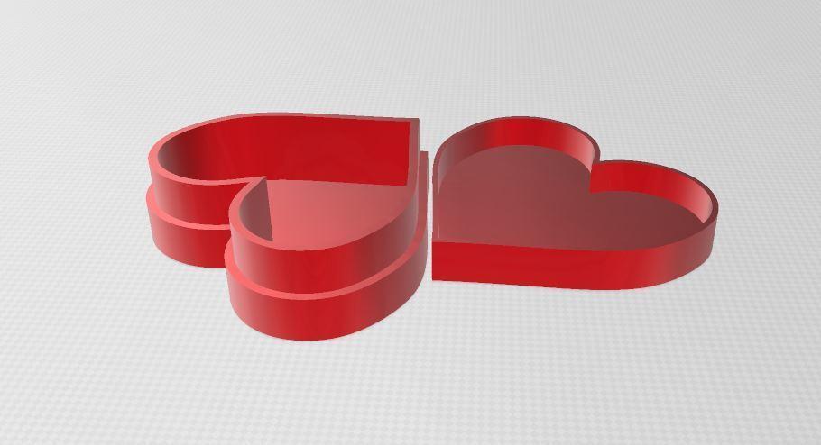 Capture47.JPG Download free OBJ file Heart box • 3D printer model, ryad36