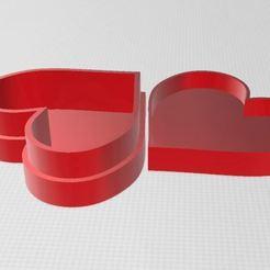 Impresiones 3D gratis Caja del corazón, ryad36