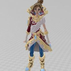 Télécharger fichier OBJ gratuit la reine ! • Modèle pour imprimante 3D, ryad36