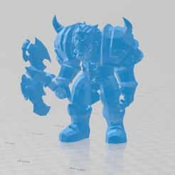 Download free 3D printer designs wor Warrior WOW Warrior, ryad36