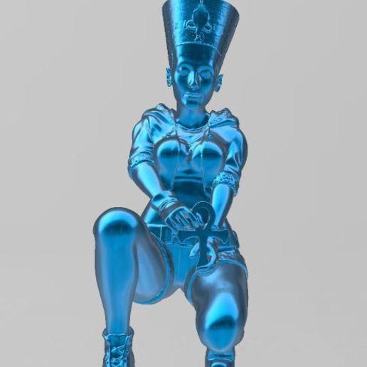 Descargar archivos STL gratis Nefertitititi, Faraón, Egipto,, ryad36