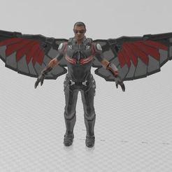 Descargar Modelos 3D para imprimir gratis Hombre volador, ryad36