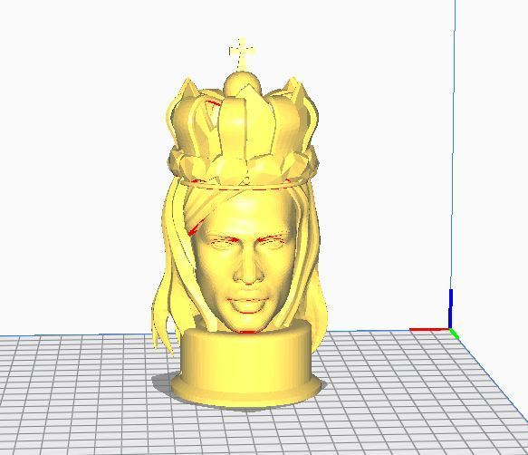 king1.JPG Télécharger fichier OBJ gratuit Bust King  • Design à imprimer en 3D, ryad36