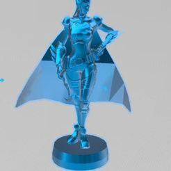 bat1.JPG Download free OBJ file Bat Girl, Batman, • Model to 3D print, ryad36