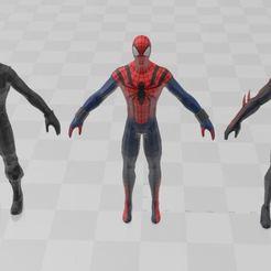 Descargar archivo 3D gratis 3 modelos de Spiders Man, ryad36