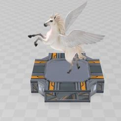 Download free 3D printer files Unicorn Legendary creature, ryad36