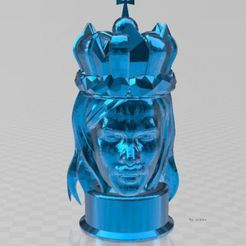 Download free 3D printing designs Bust King, ryad36