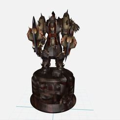 Download free 3D printer model ORC ,wow ,Horde ,World of War Craft,, ryad36