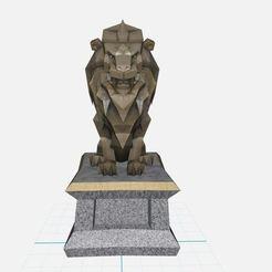 Descargar diseños 3D gratis León ,Animal, ryad36
