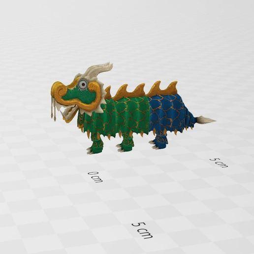 Download free 3D printing models Chinese Dragon, ryad36