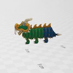 Download free 3D printing models Chinese Dragon, ryad36