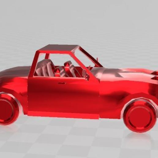 Imprimir en 3D gratis Coche deportivo, ryad36