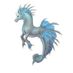 Download free 3D model hippocampus, horse, celestial creature, nature, animal,, ryad36