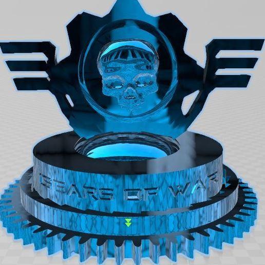 Descargar modelo 3D gratis Engranajes de guerra Trofeo, juegos, 3d, logo, Trofeo, guerra,, ryad36
