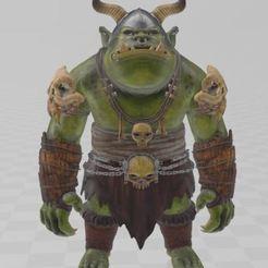 Download free 3D printer designs Troll, ryad36