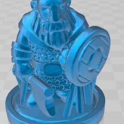 Download free 3D model Dwarf Warrior, ryad36
