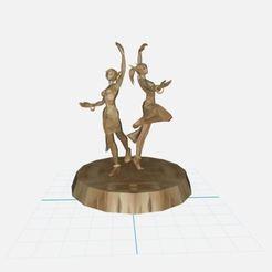 Télécharger modèle 3D Danseuses  Elfe de la Nuit., ryad36