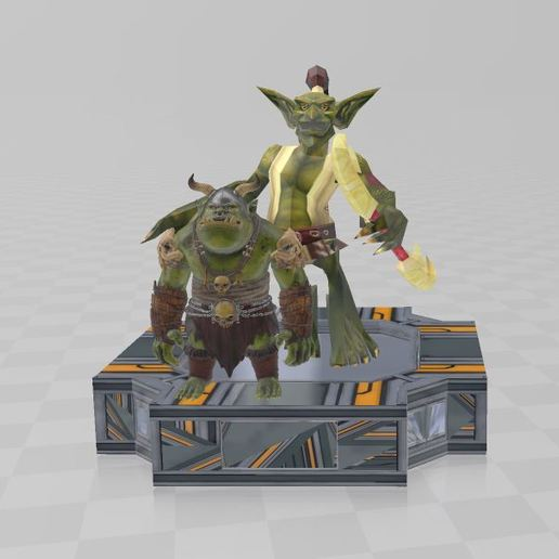 Download free 3D printing files Goblin & Troll, ryad36