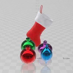 Télécharger fichier imprimante 3D gratuit Boules de Noel , ryad36