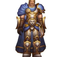 Download free 3D printer model Prince Arthas, World of warcraft, wow, Alliance, Games, ryad36