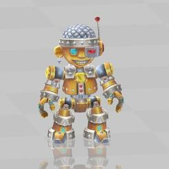 Download free 3D printer templates Mechanical robot, ryad36