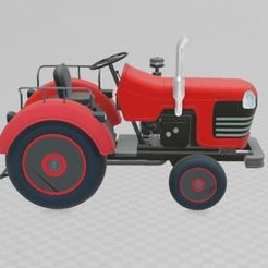 Download free 3D printer templates Tractor unit, ryad36