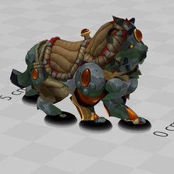 Descargar archivos 3D gratis perro chino, ryad36