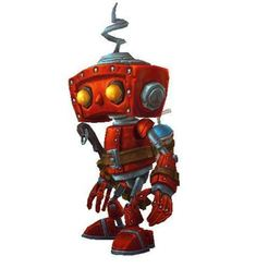 Download free OBJ file Robot, games, • 3D printable model, ryad36