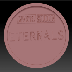 Eternals avengers 01.png Download free STL file Medaillon Eternals Avengers • 3D printable object, edbo