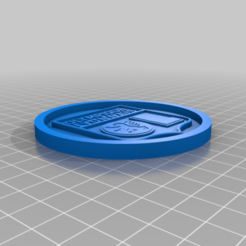 Download free 3D printer files Lyon Olympic Medallion, edbo