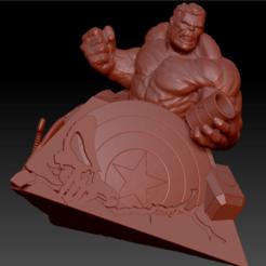 Télécharger fichier STL Avengers Disaster • Plan imprimable en 3D, edbo