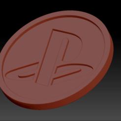 Télécharger fichier STL gratuit Medaillon Playstation • Objet pour imprimante 3D, edbo
